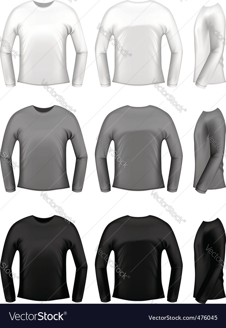 T-shirt design elements vector image