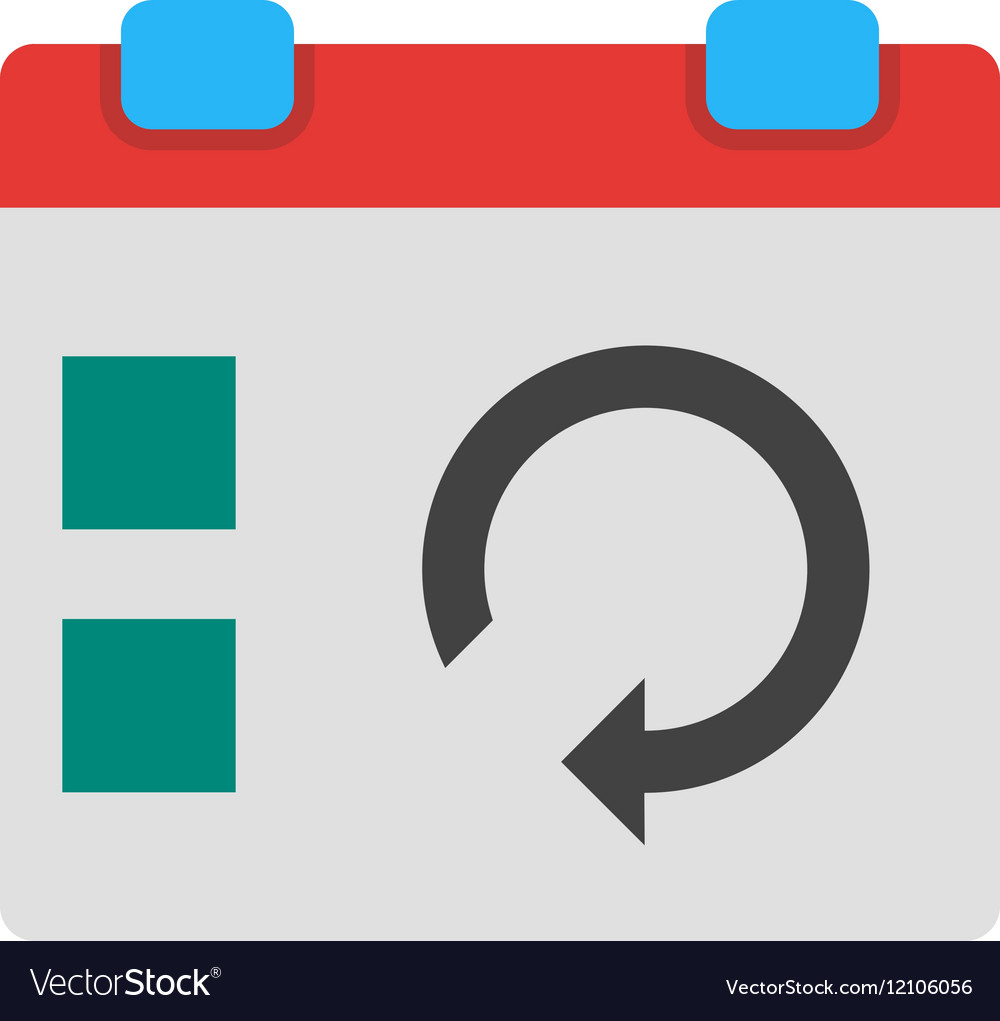 Sync Event vector image
