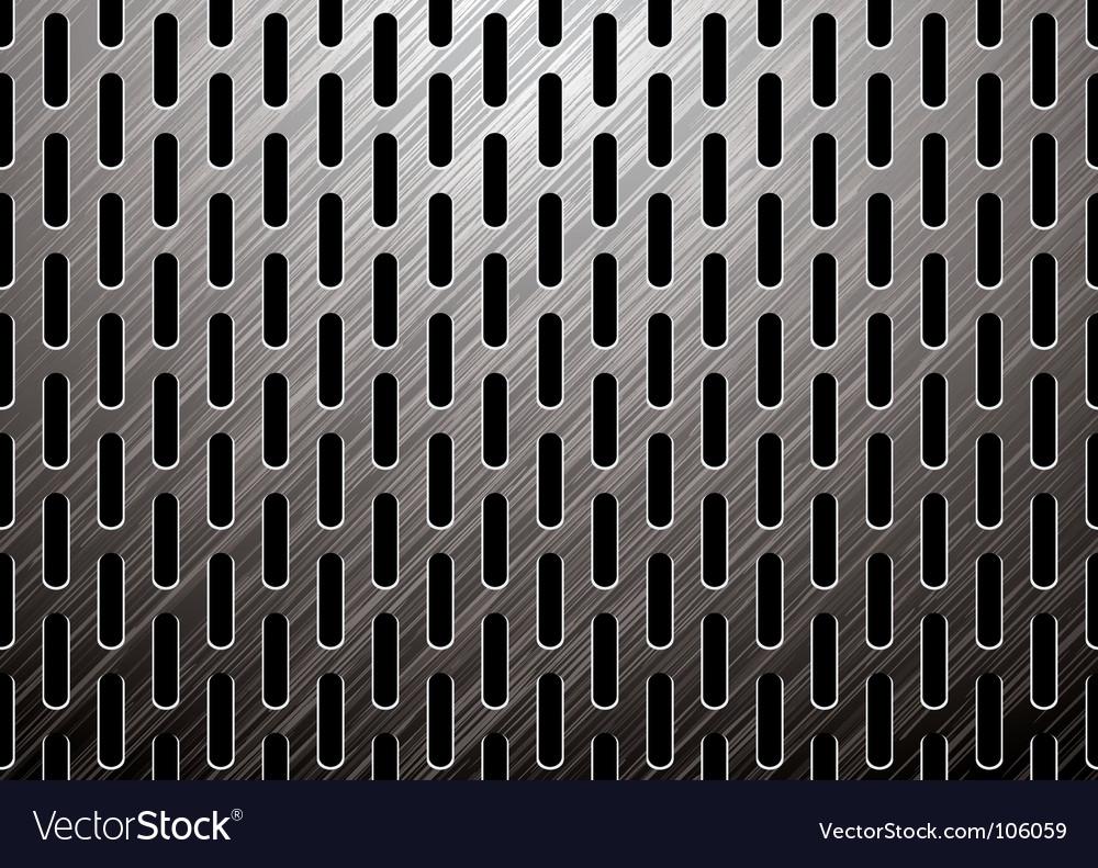 Metalic background vector image