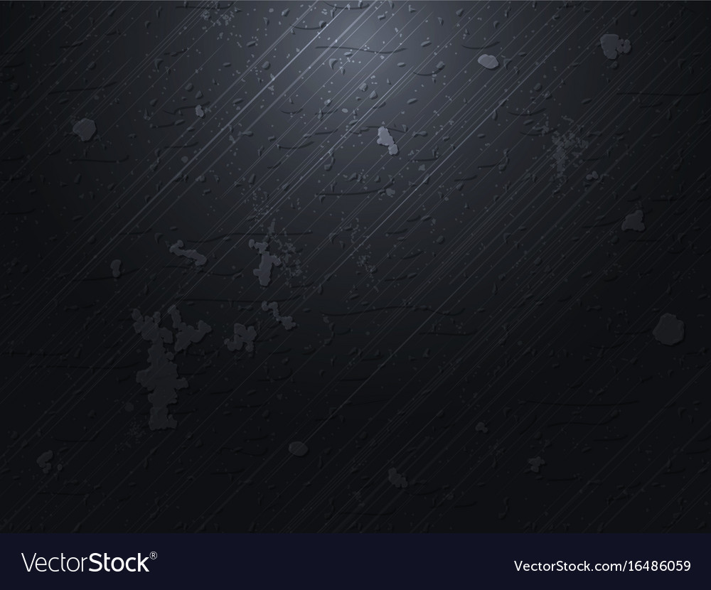 Dark concrete background vector image
