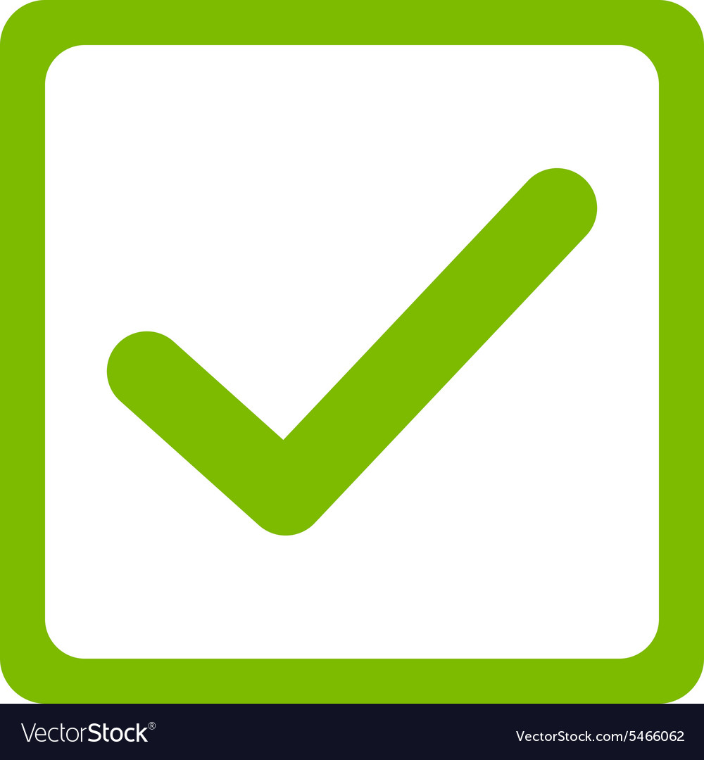 Checkbox icon from Business Bicolor Set vector image
