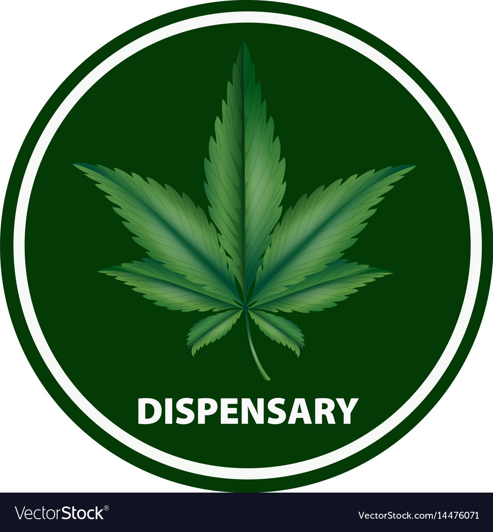 Icon design for dispensary vector image