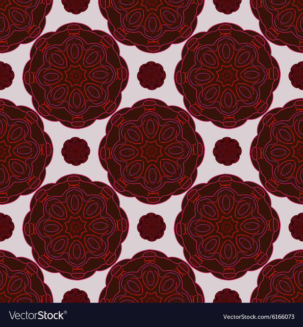 The pattern in oriental style vector image
