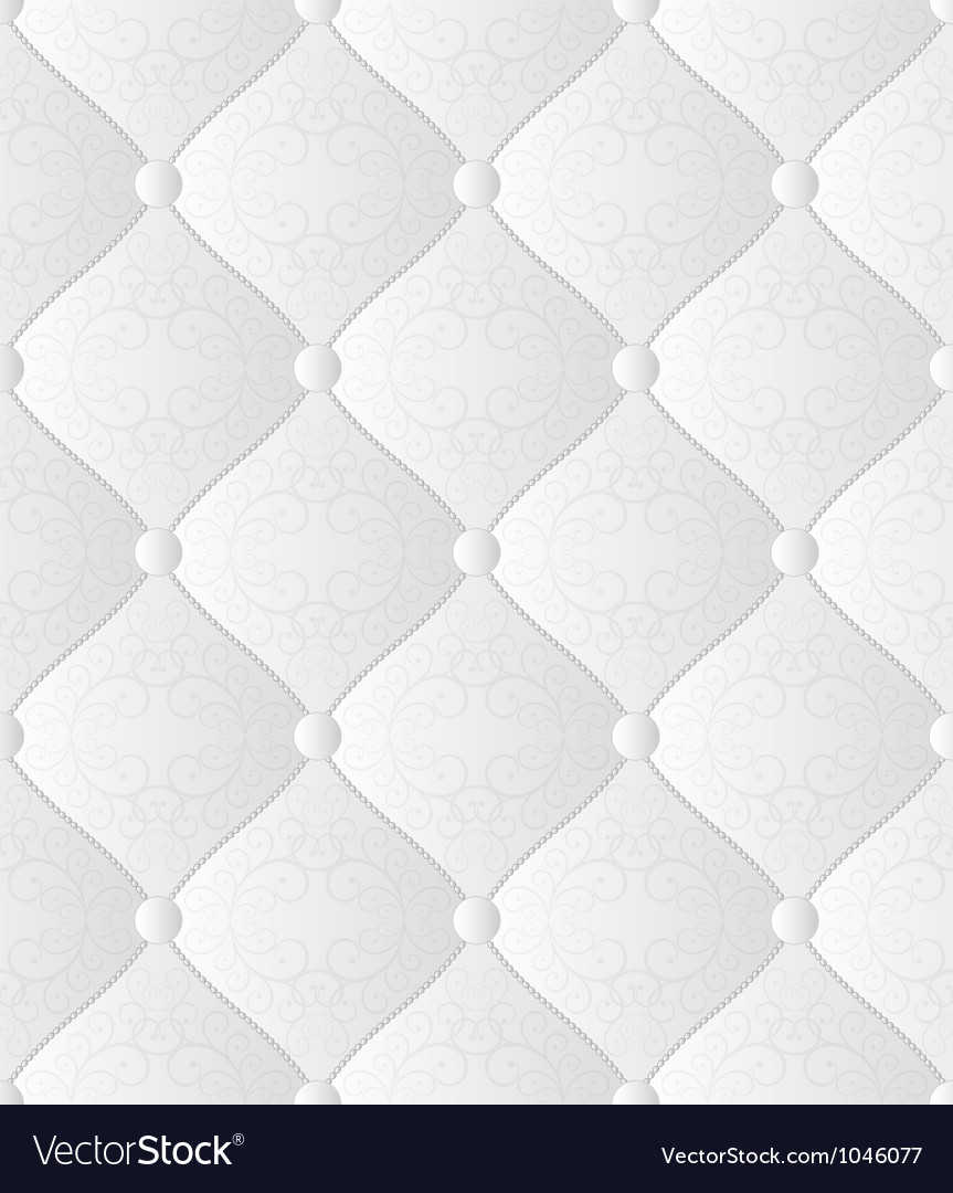 White seamless background vector image