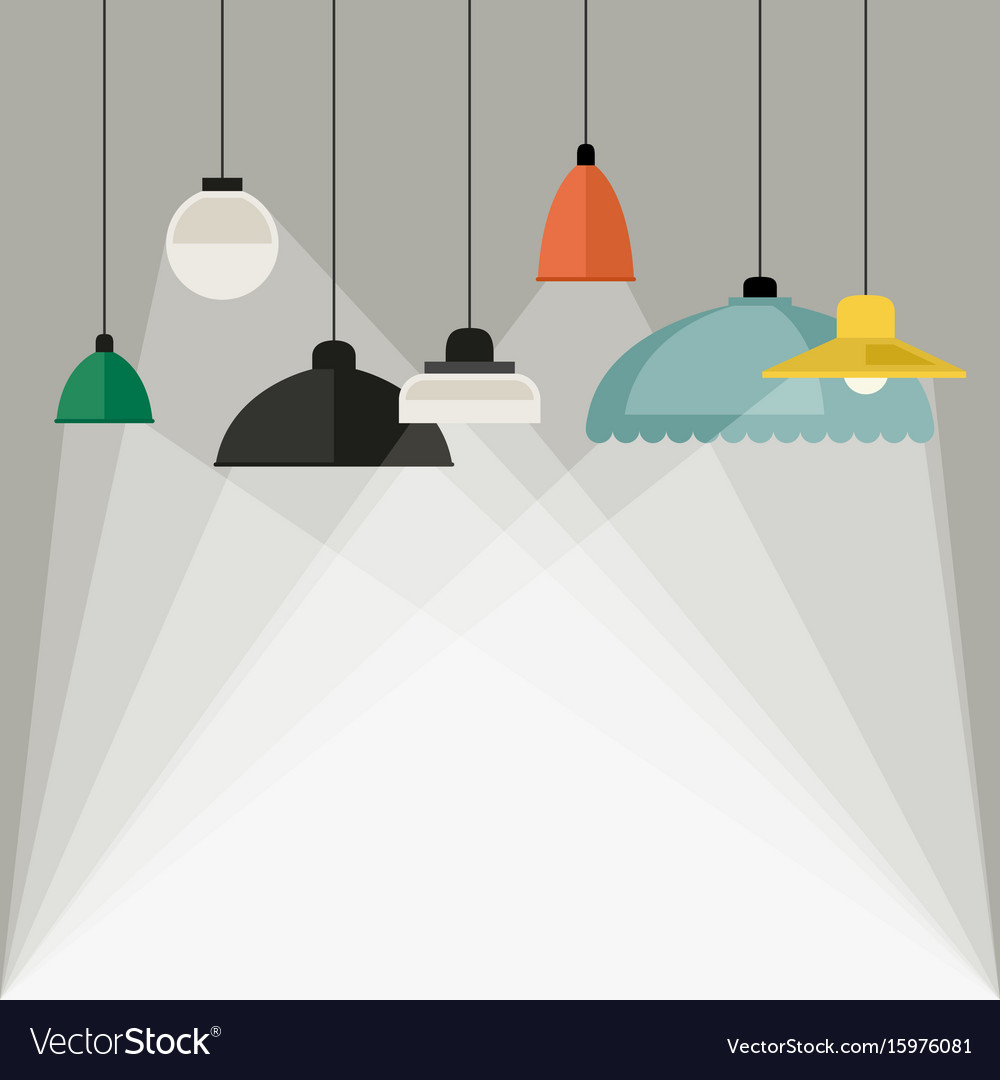 Home light background vector image