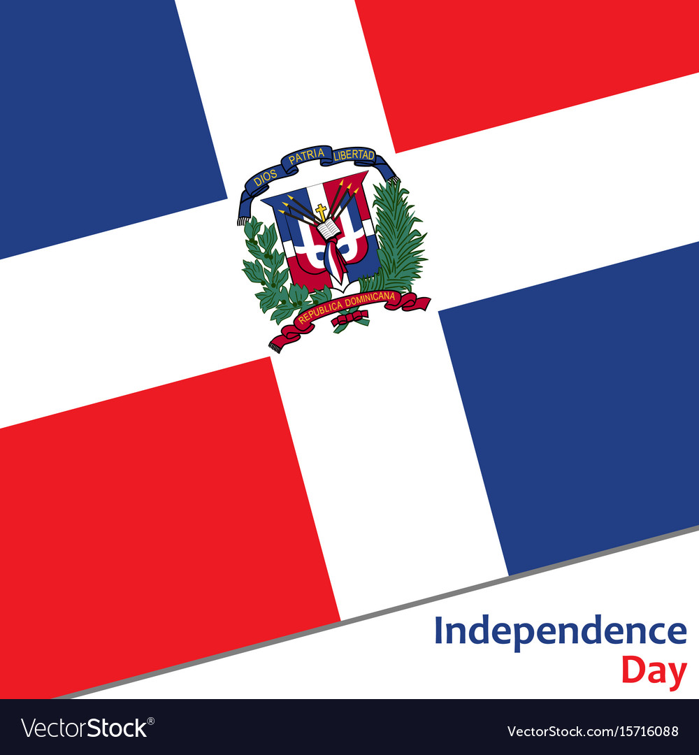 Dominican Republic Independence Day Royalty Free Vector - Dominican republic independence day
