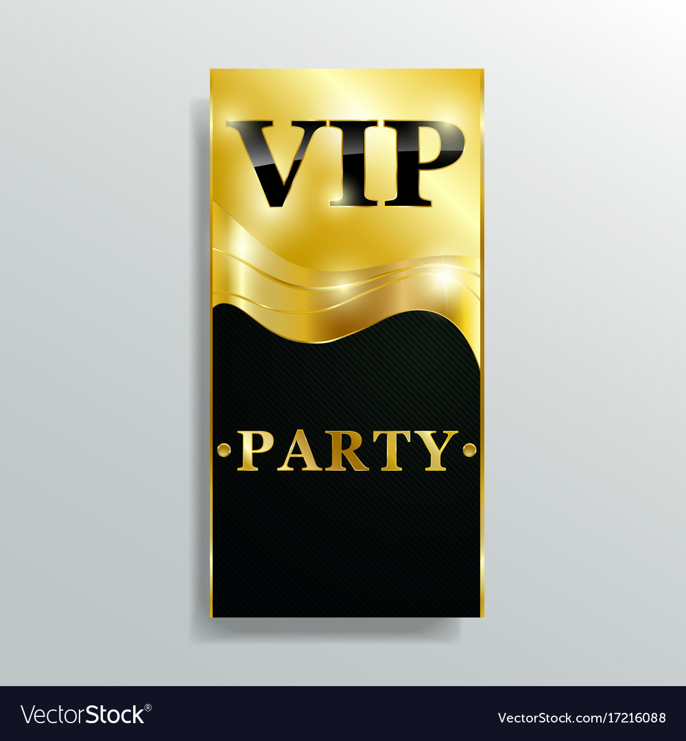 Vip club party premium invitation card poster flye vip club party premium invitation card poster flye vector image stopboris Image collections