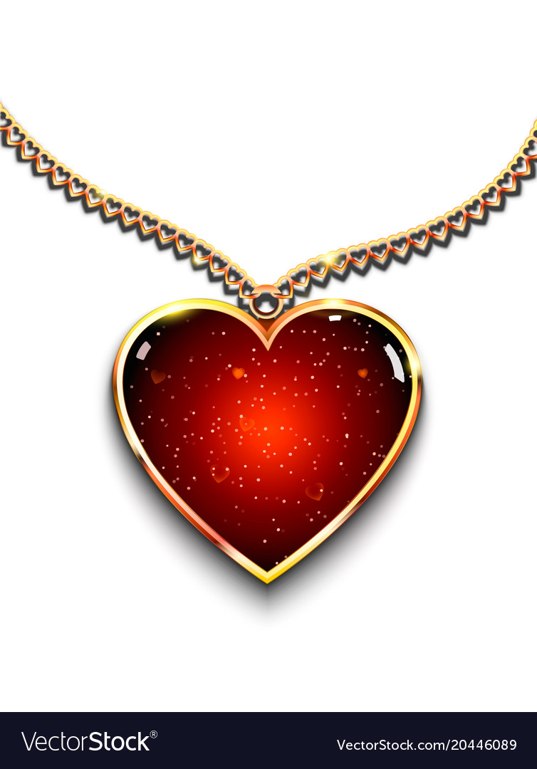 shaped heart with pendant cz empty en