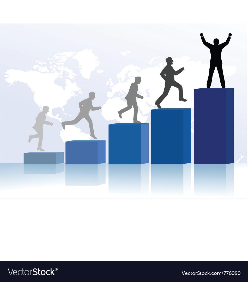 Achievement vector image
