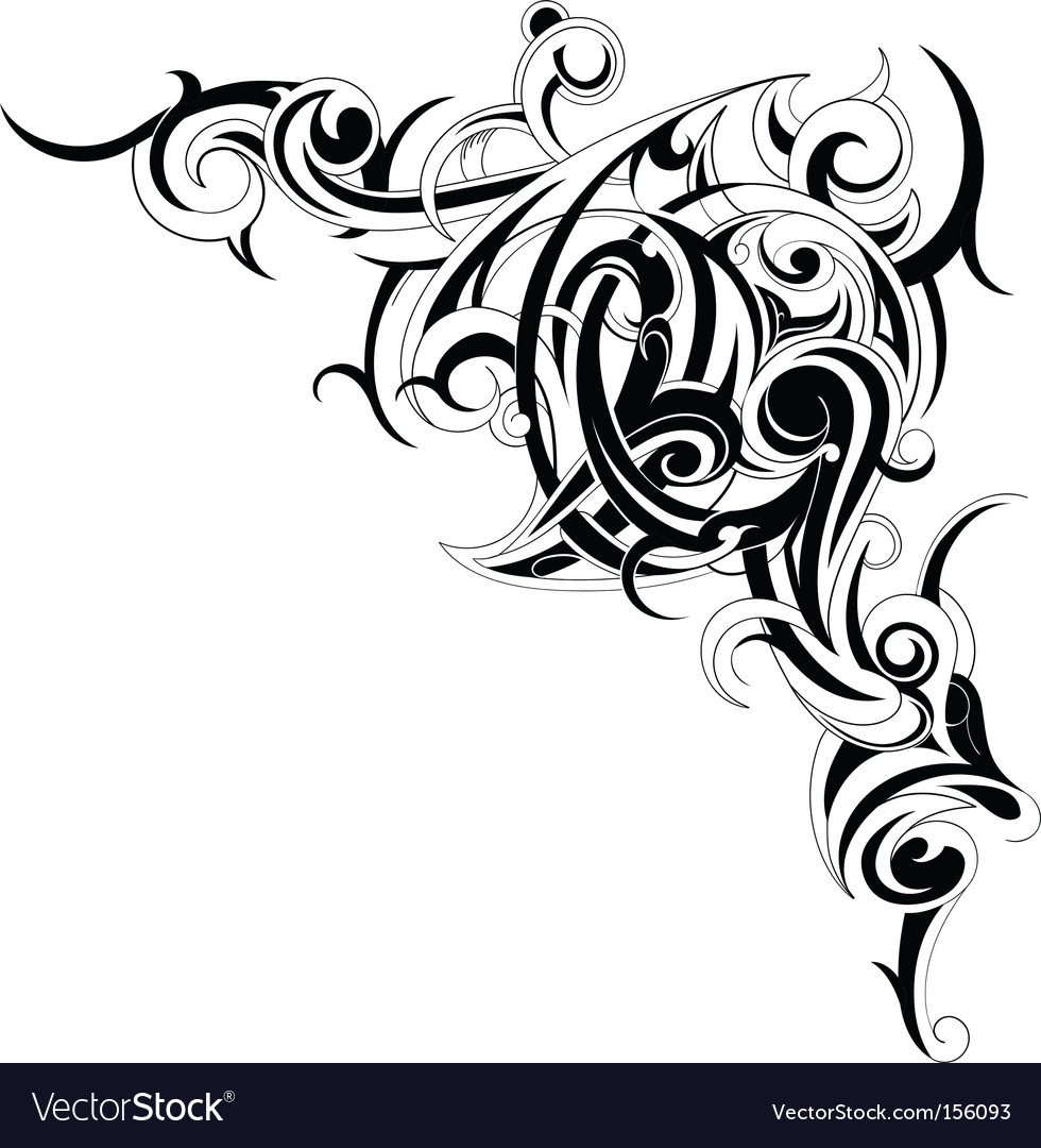 Tattoo Design Vector. Artist: AKV; File type: Vector EPS; Contains CS file: