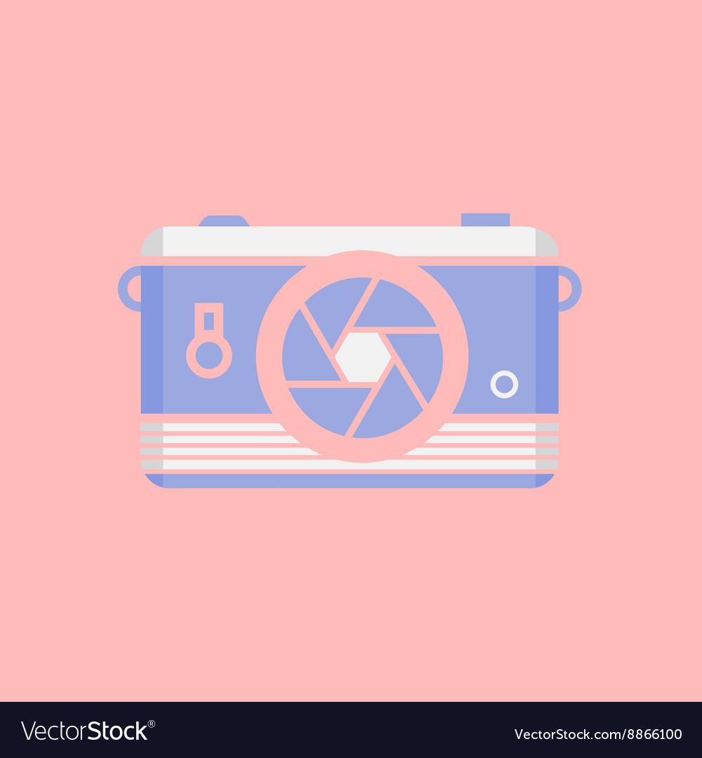 Modern flat design web icon or logo cool vector image