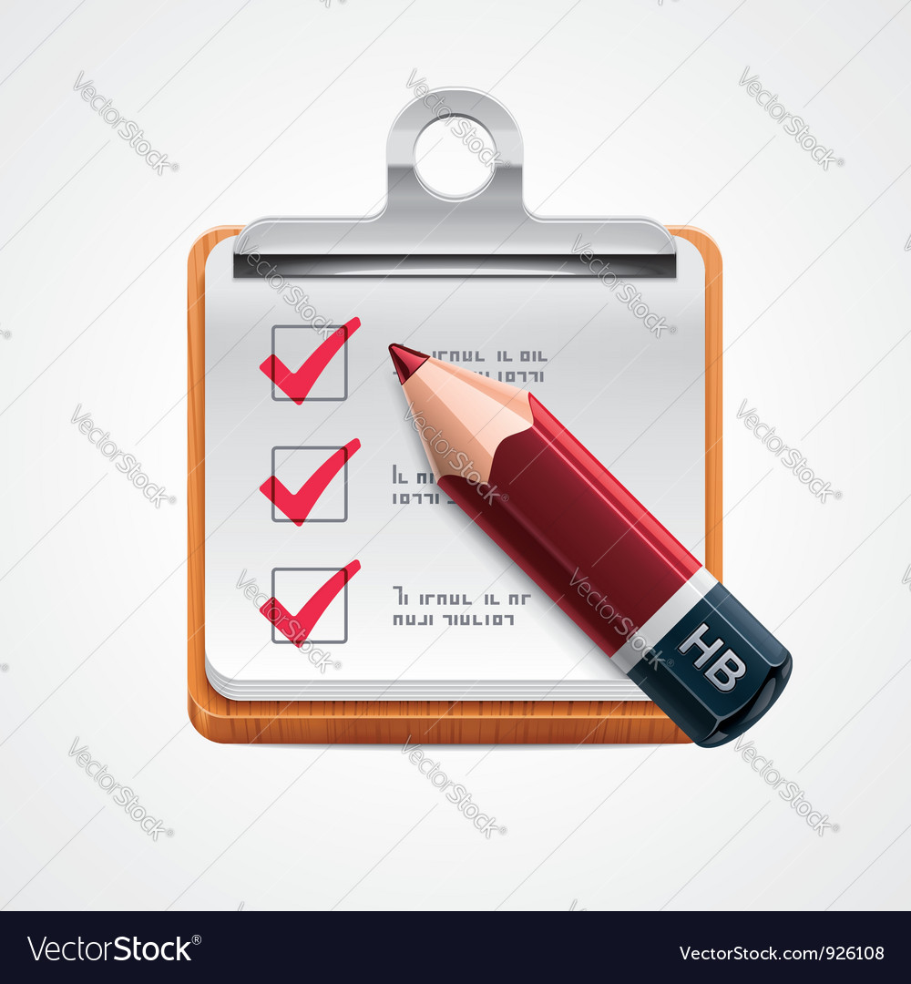 Options selection icon vector image