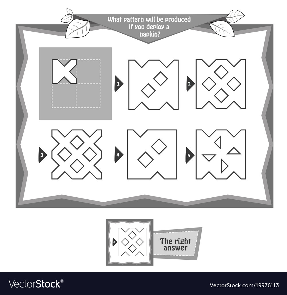 Coloring book napkins 6 vector image