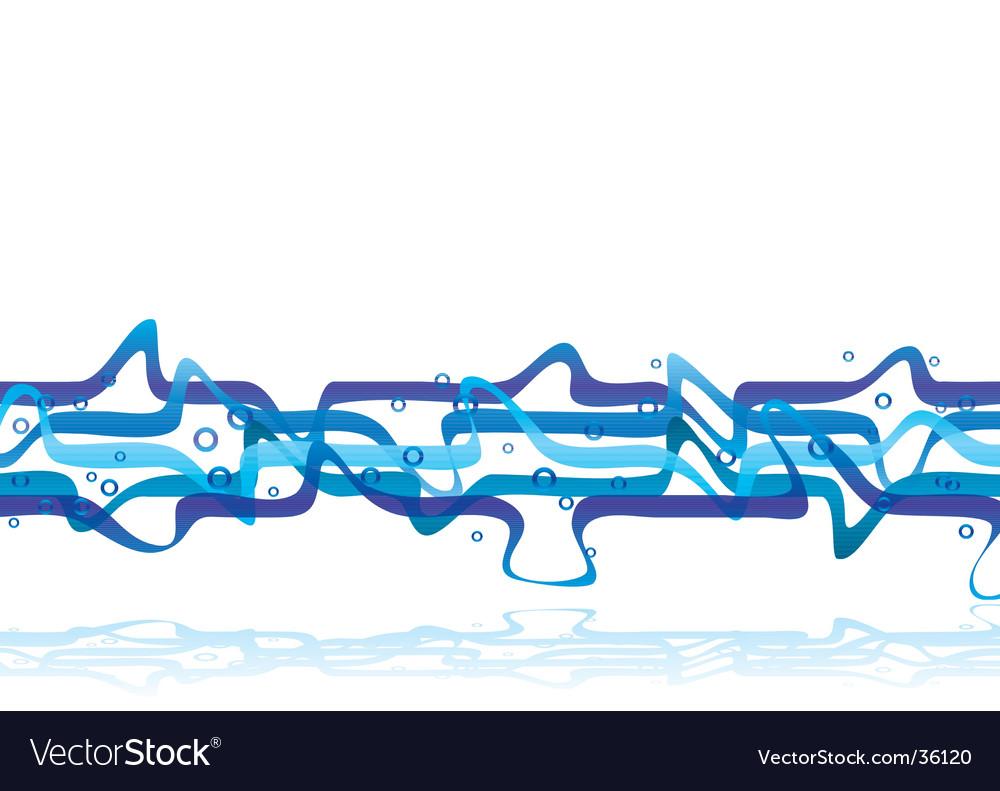 Blue muddle vector image