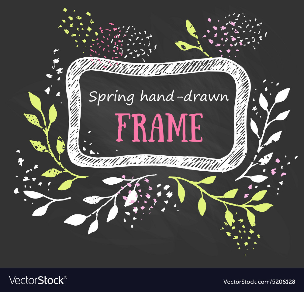 Creative artistic background spring invitation vector image stopboris Images