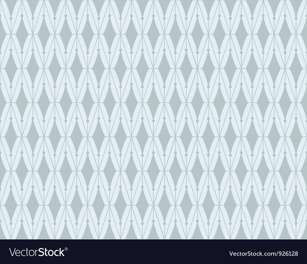 Vintage victorian seamless pattern set vector image