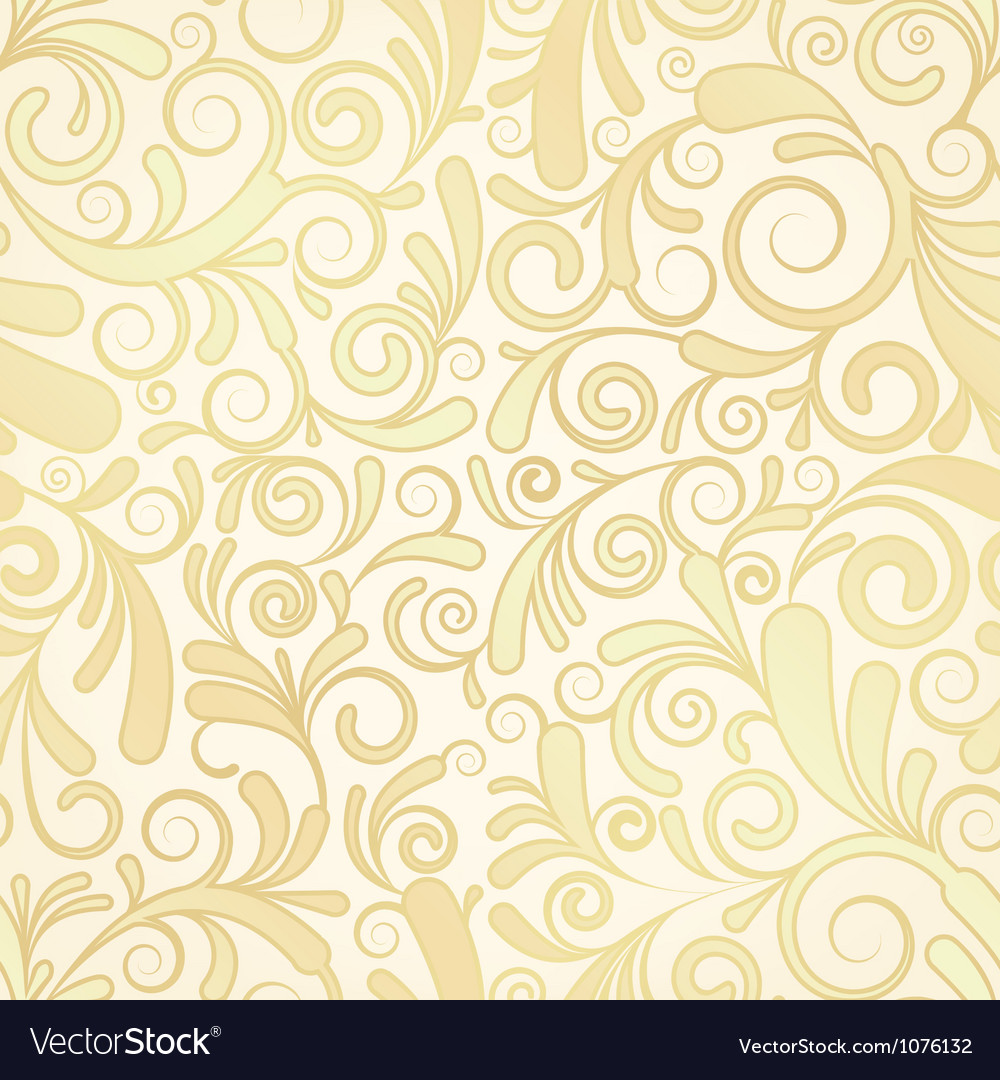 Seamless background of gold vector image