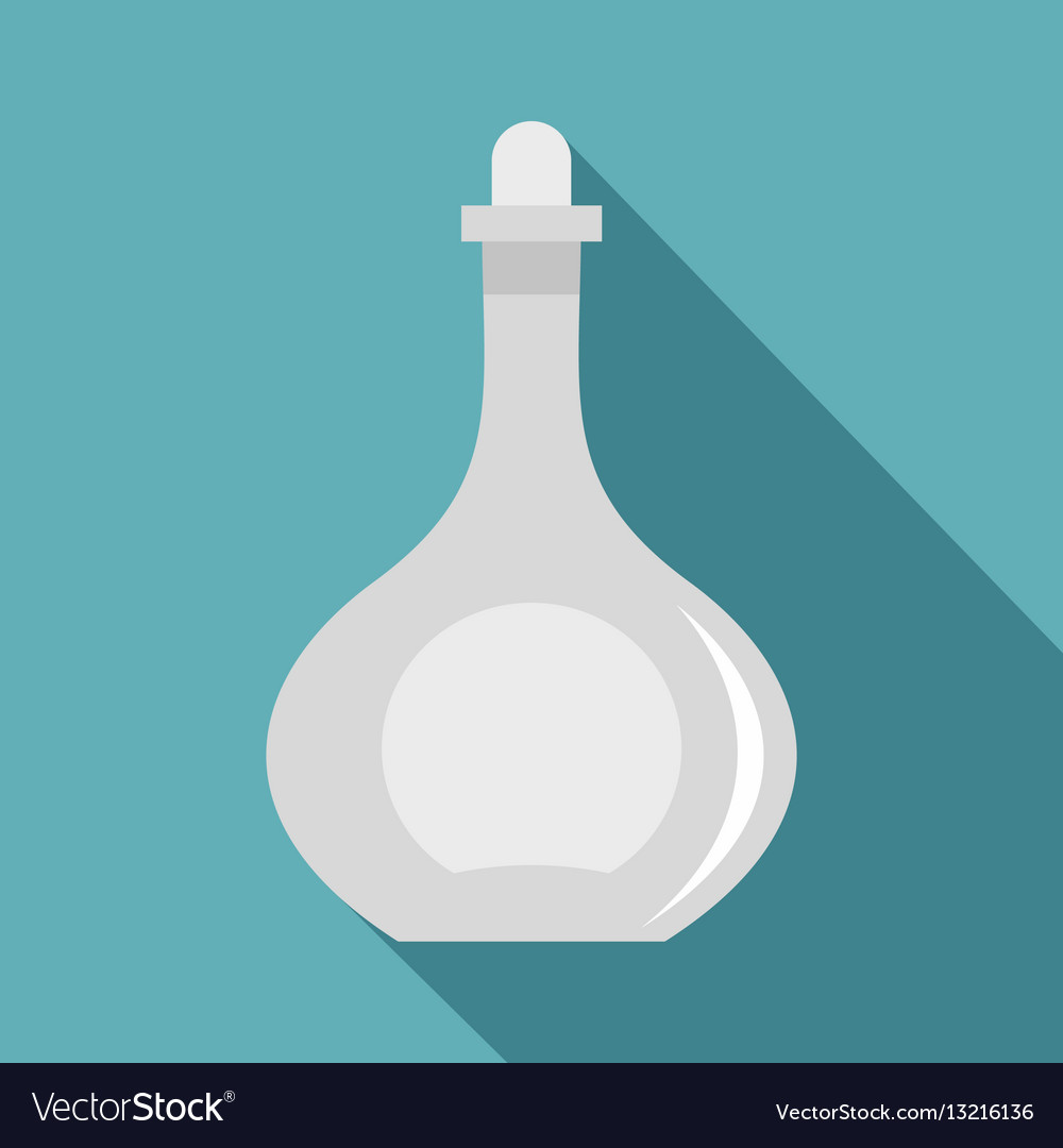 Carafe icon flat style vector image