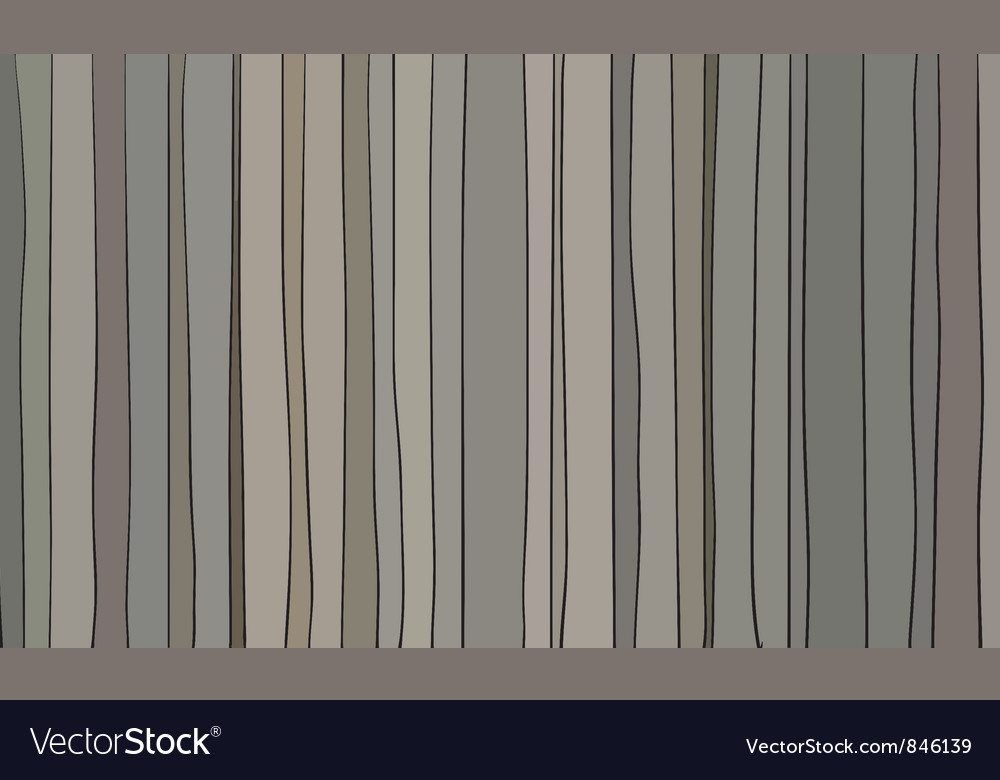 Stained glass striped window vector image