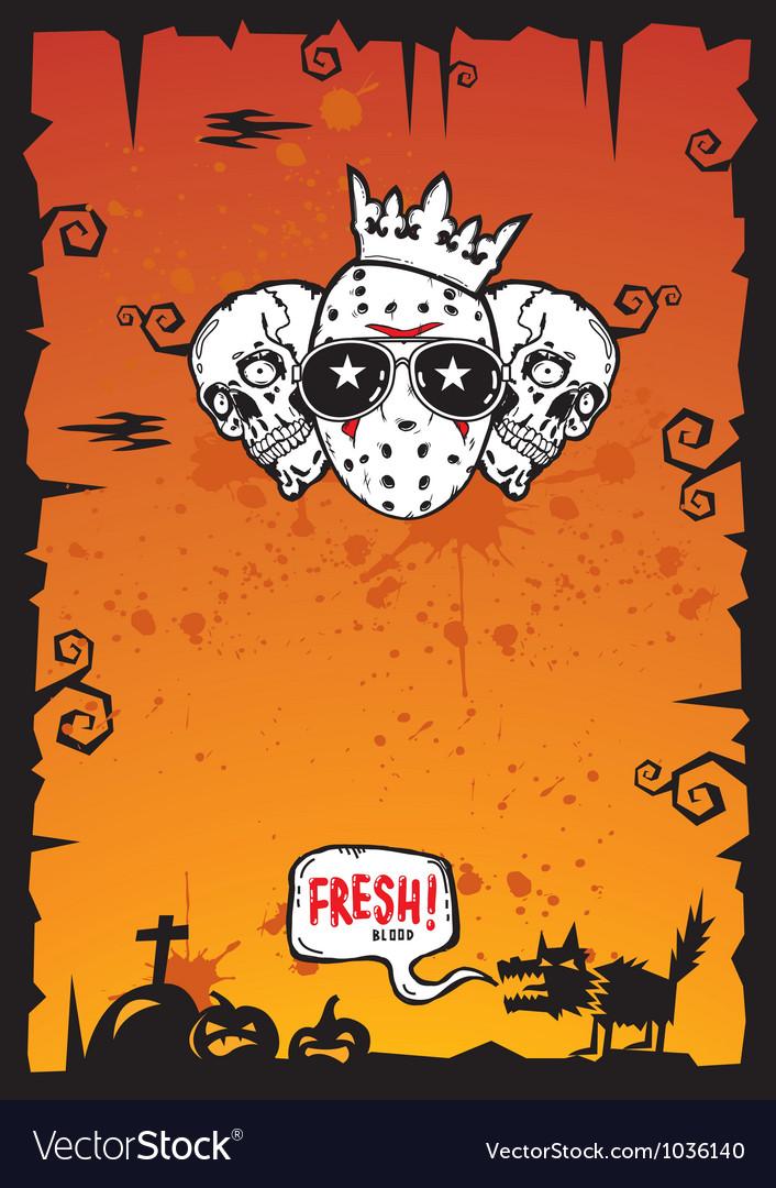 Halloween Background 2012 vector image