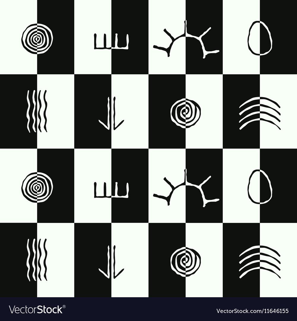 Seamless pattern with australian aboriginal art vector image biocorpaavc Images