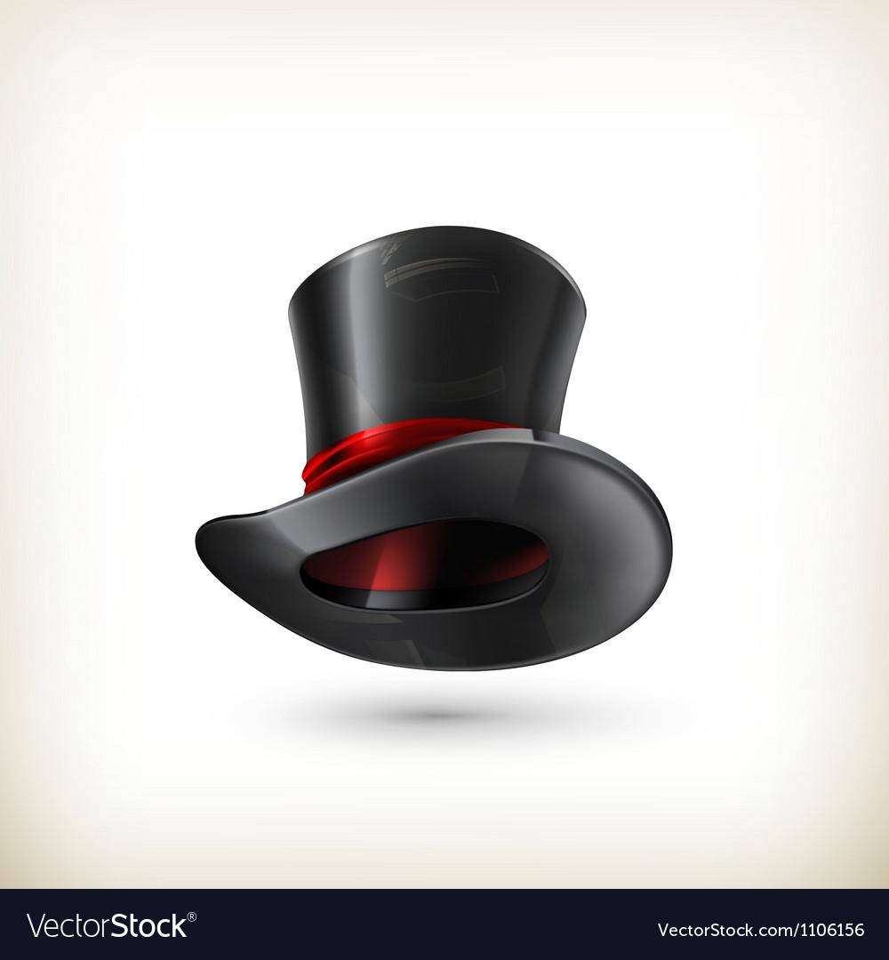 Cylinder hat Vector Image
