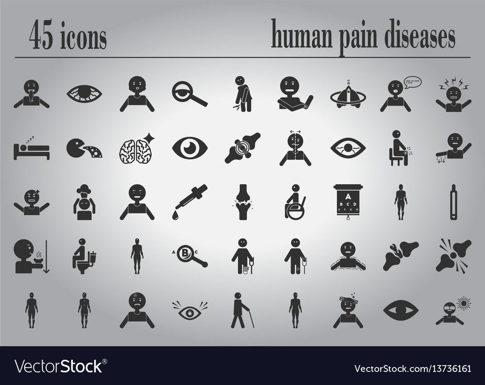 Body pain and general illness symptoms in human