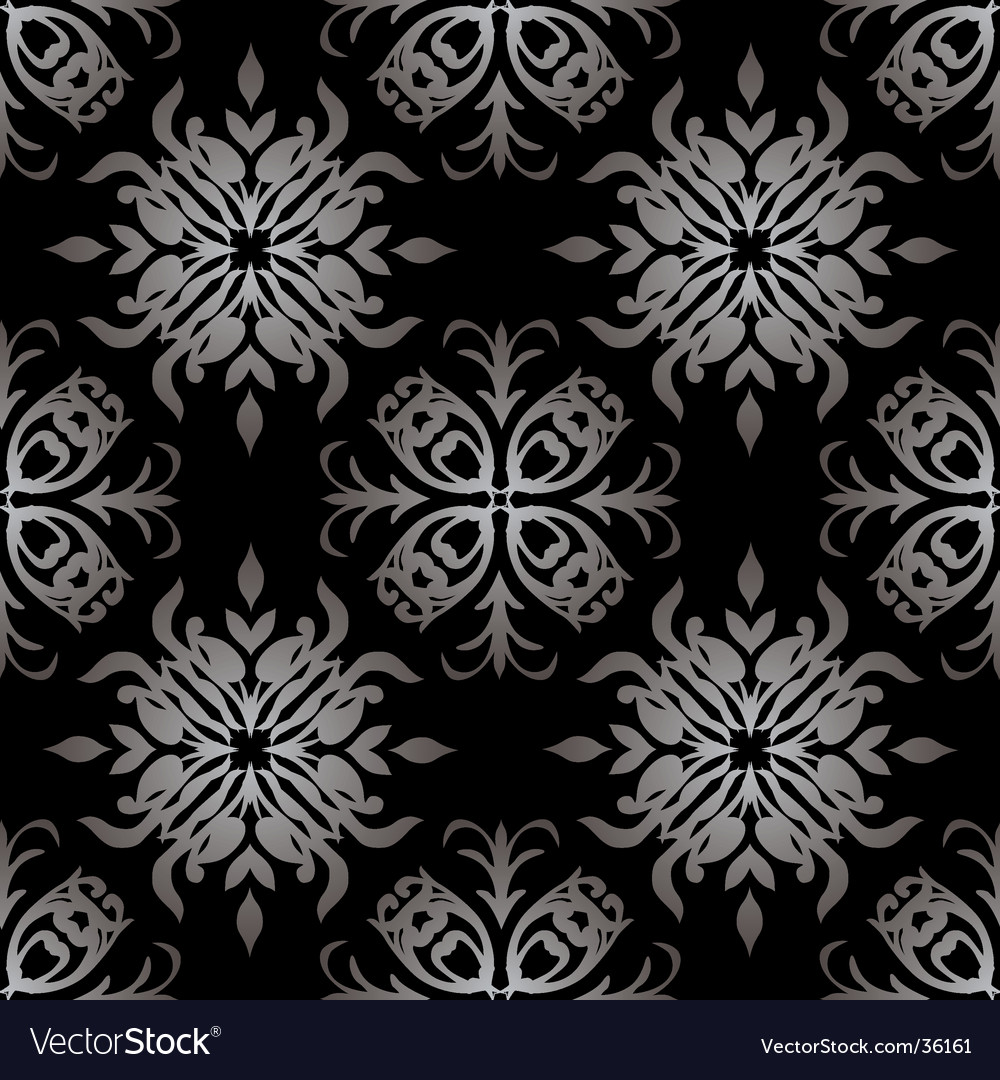 Gothic Pattern Wallpaper gothic wallpaper royalty free vector image - vectorstock