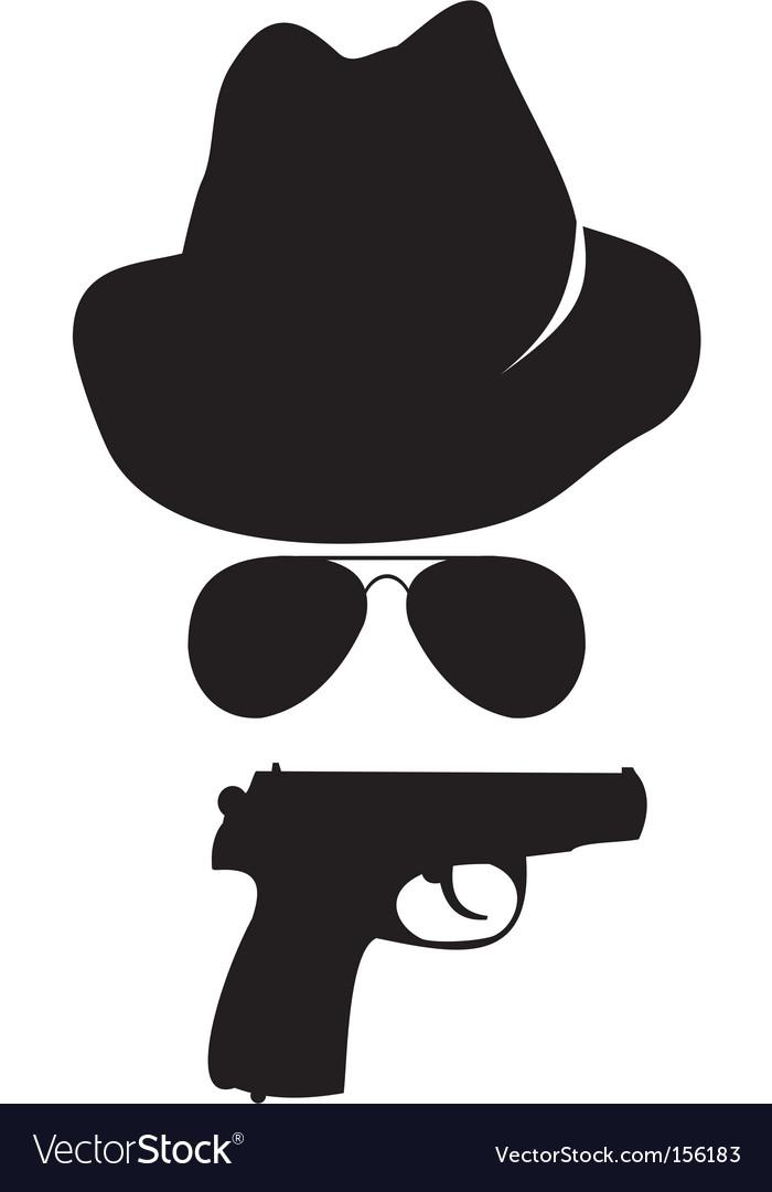 Spy accessories vector image
