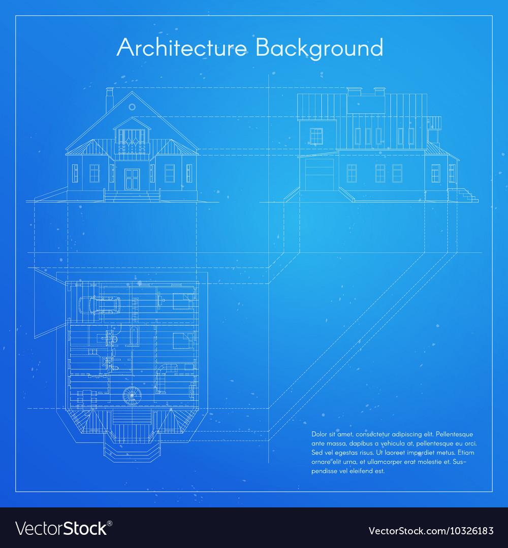 City building blueprint royalty free vector image city building blueprint vector image malvernweather Gallery