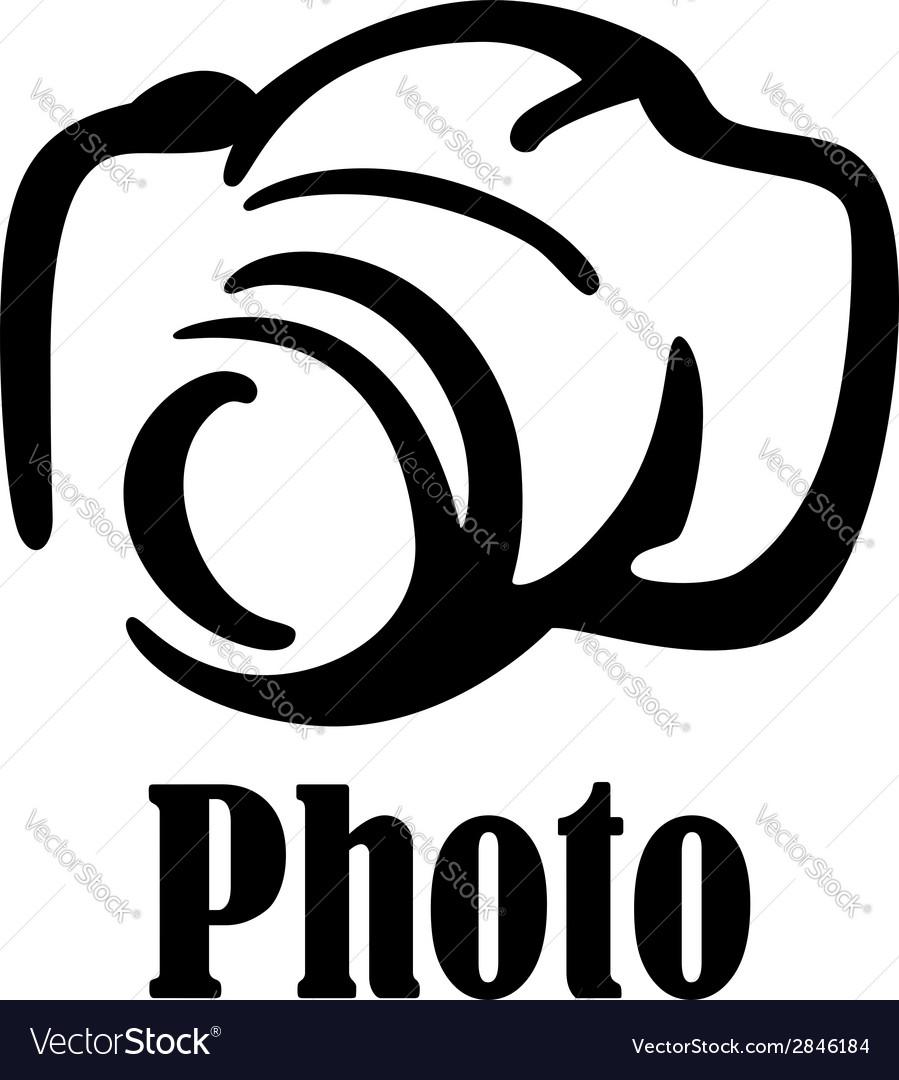 Camera icon or symbol vector image
