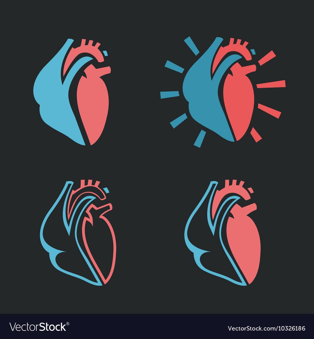 Heart Icon 01 A vector image