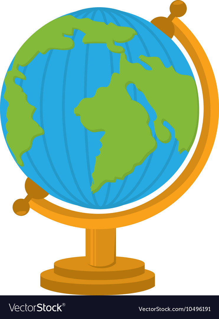 World map cartoon school isolated royalty free vector image world map cartoon school isolated vector image sciox Images