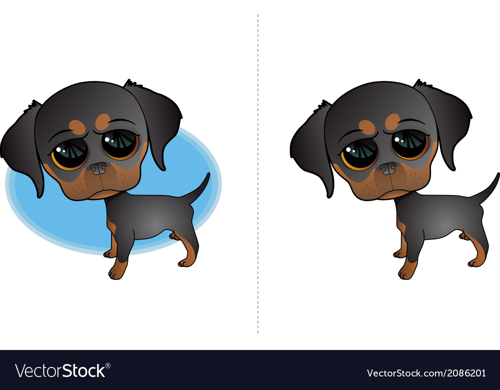 Dog Icons vector image