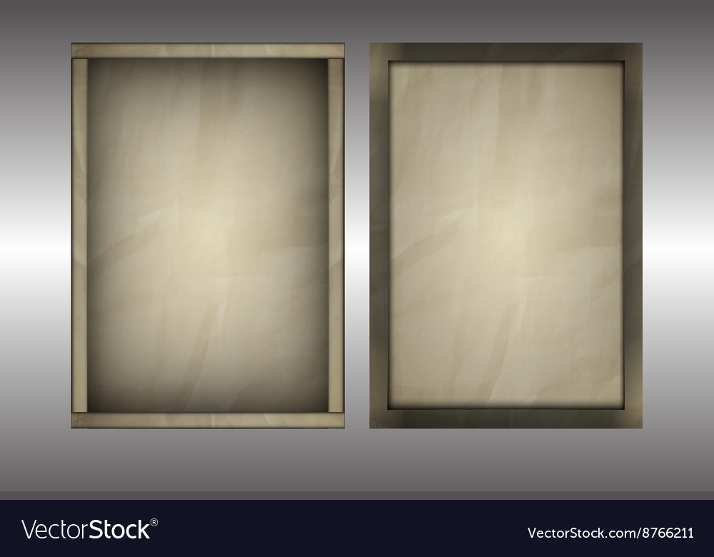 Background of old paper vector image