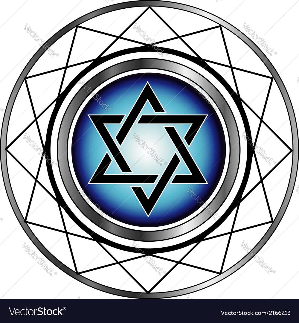 Star of david jewish religious symbol royalty free vector star of david jewish religious symbol vector image biocorpaavc