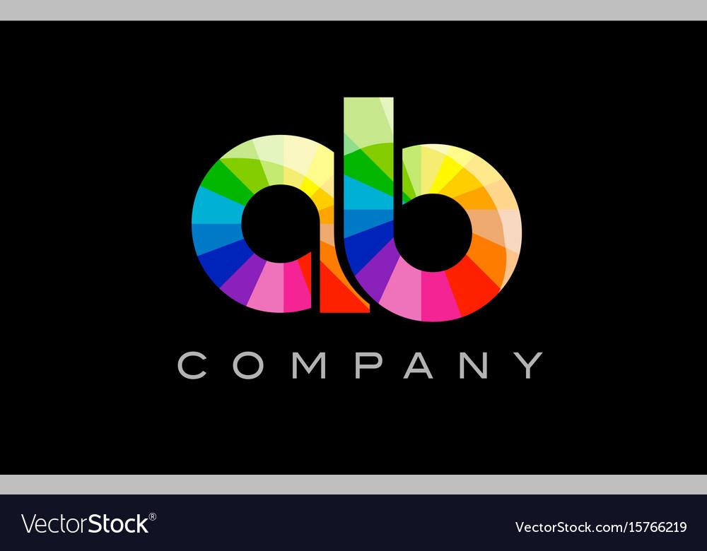 Ac a c alphabet letter mosaic design vector image