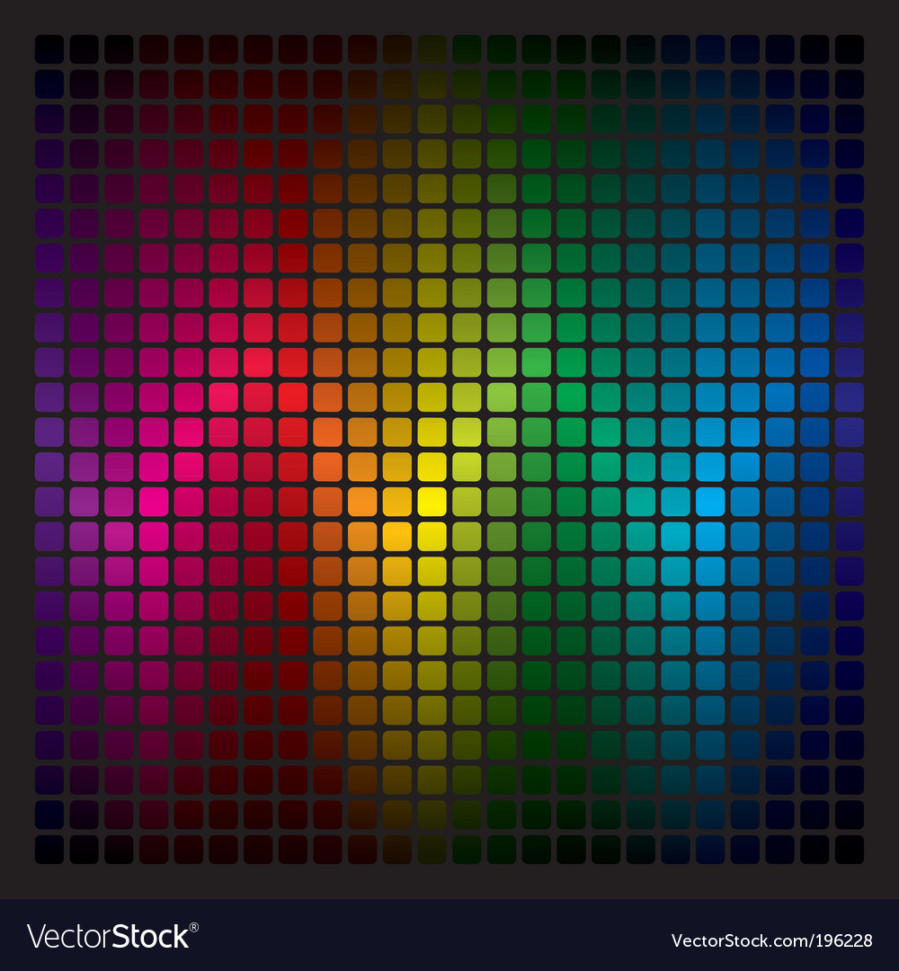 Spectrum background vector image