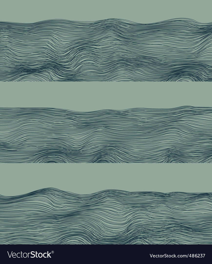 Abstract river background vector image