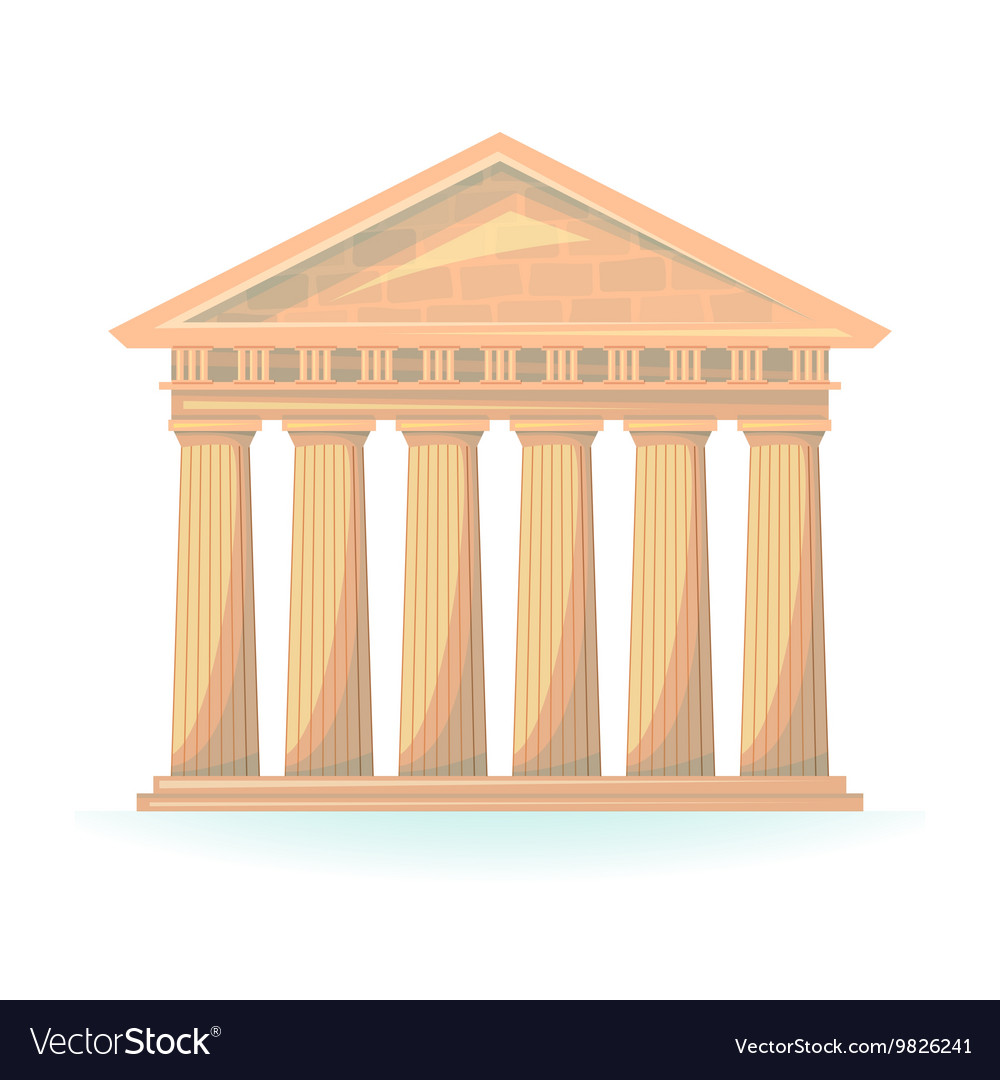 Ancient Temple vector image
