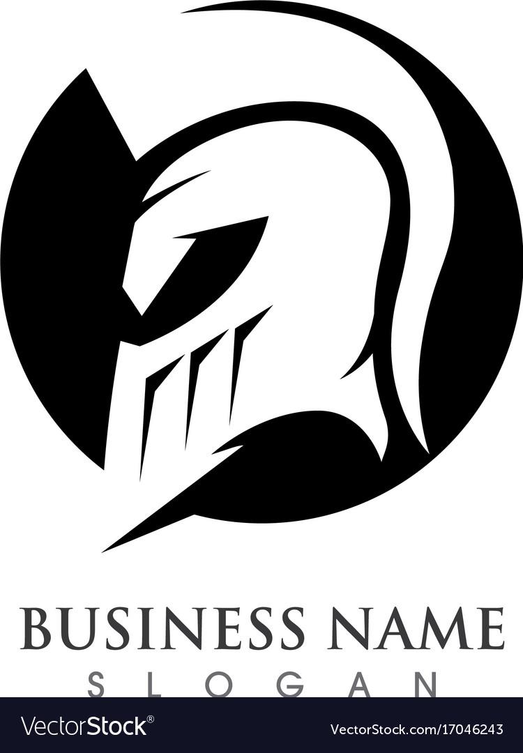 Sign spartan helmet logo template icon design vector image sign spartan helmet logo template icon design vector image pronofoot35fo Choice Image