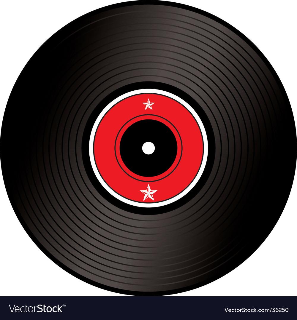 Record vector image