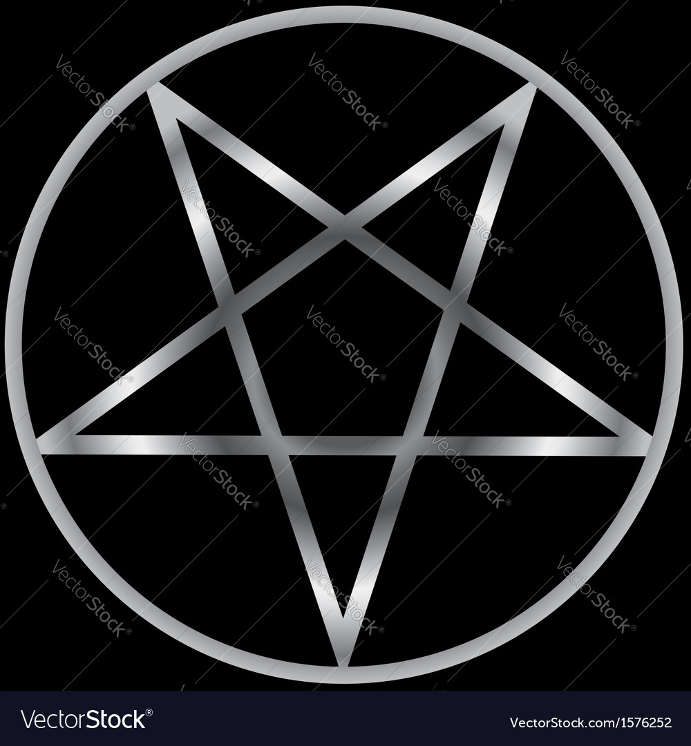 Pentacle religious symbol of satanism royalty free vector pentacle religious symbol of satanism vector image biocorpaavc