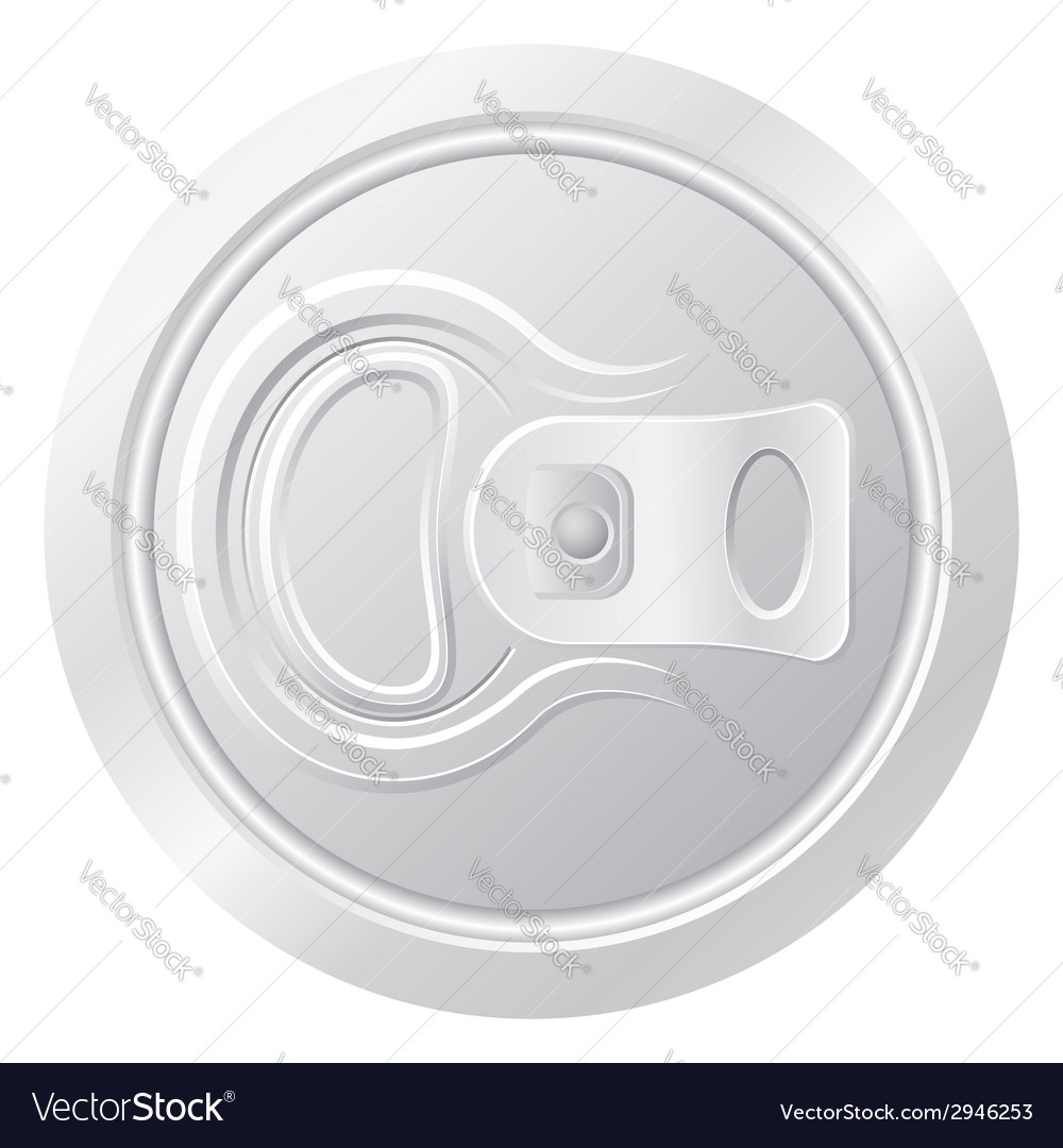 Can of beer 01 vector image