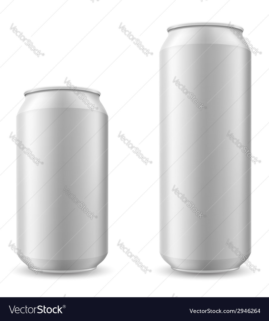 Can of beer 04 vector image