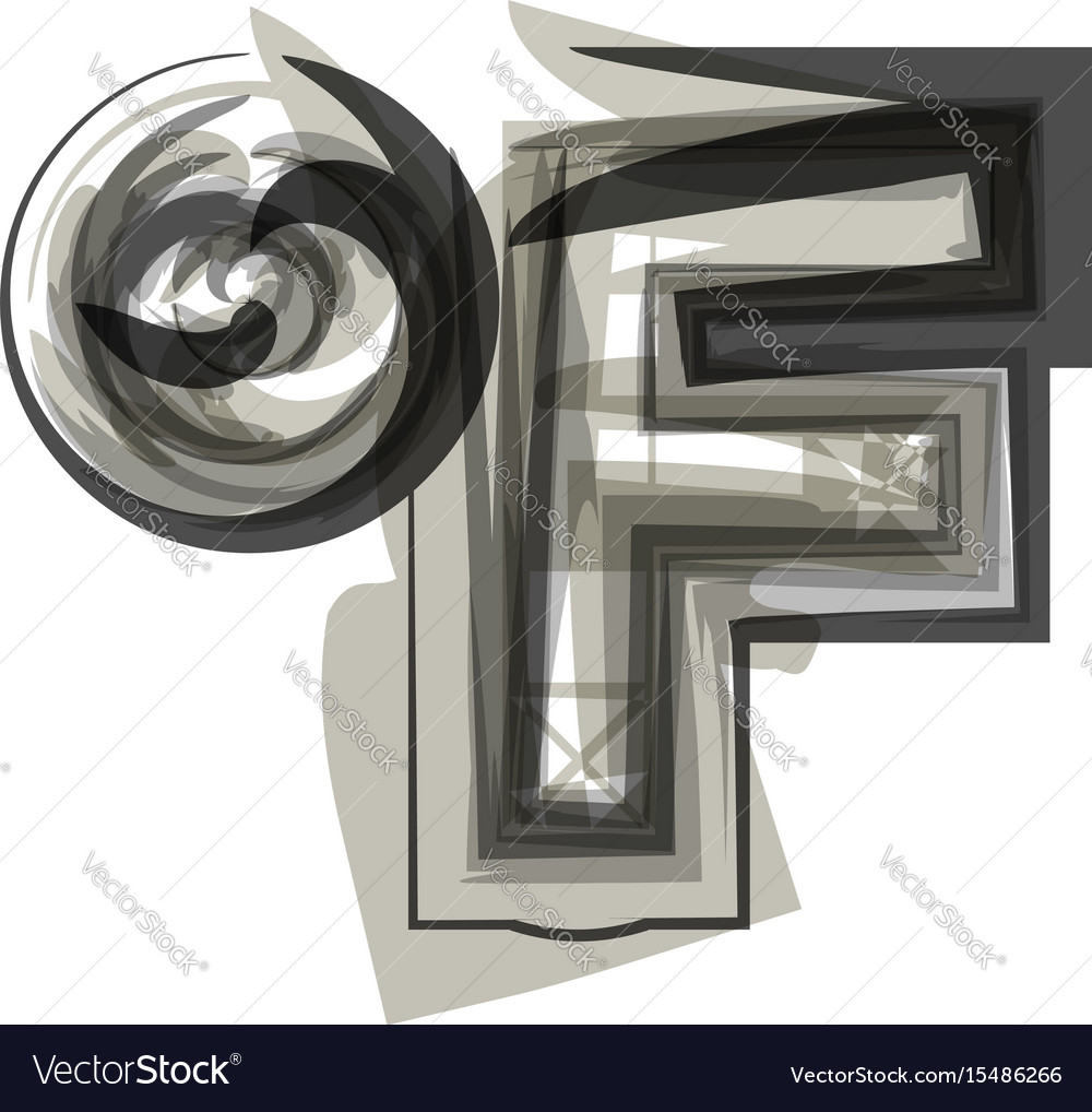 Abstract fahrenheit symbol royalty free vector image abstract fahrenheit symbol vector image biocorpaavc Choice Image