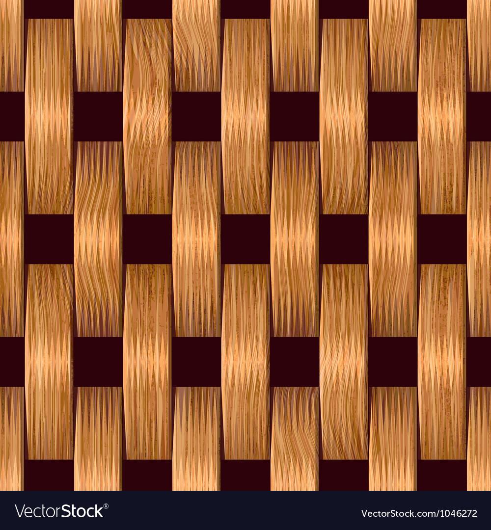 Wooden blocks grid vector image