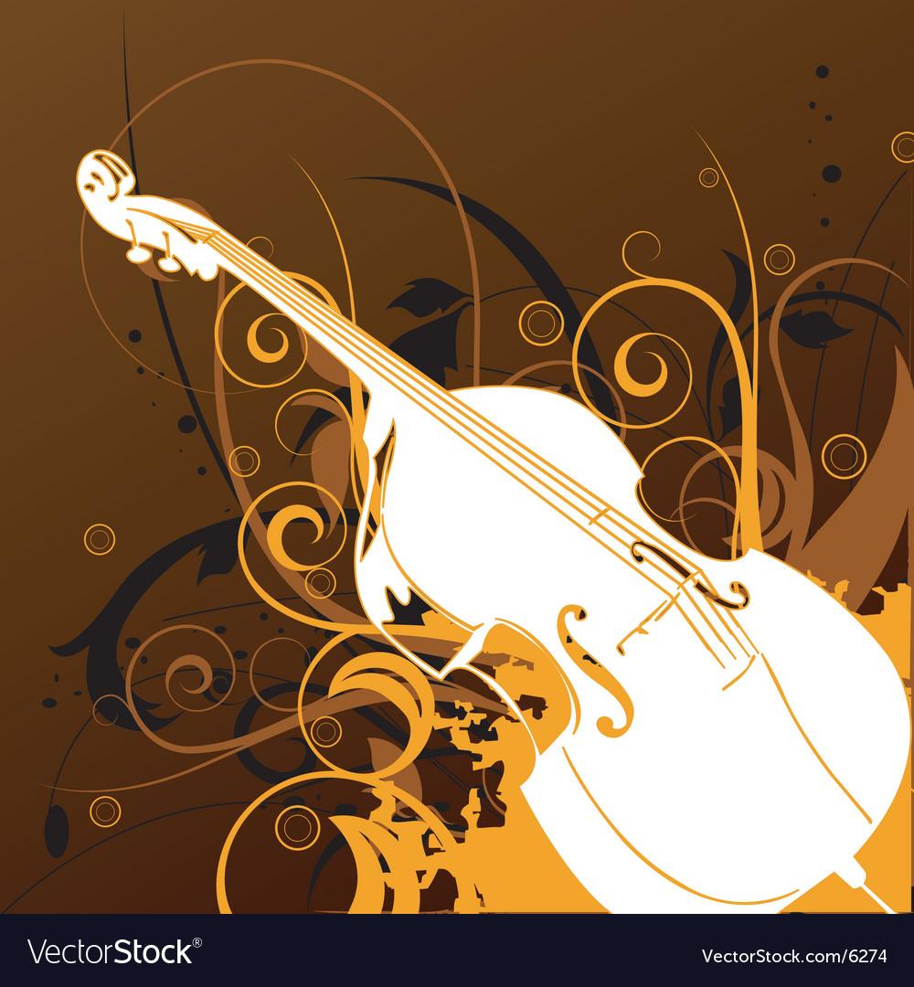 Violin graphic vector image