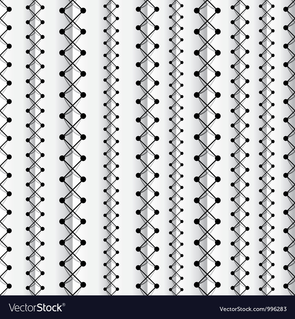 Seams seamless pattern Vector Image