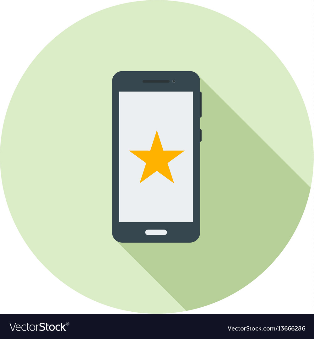 Starred vector image